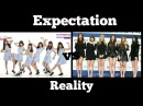 GFRIEND Expectation vs Reality pt.1