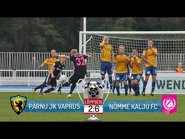 1. voor 2017: Pärnu JK Vaprus - Nõmme Kalju FC 2:6 (2:6)