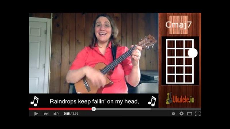 Raindrops Keep Falling on My Head Easy Ukulele Songs by 21 Songs in 6 Days