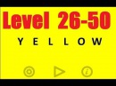 Yellow - Level 26 - 50 Bart Bonte - Android game - Walkthrough