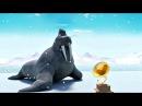 Эскимоска 1 сезон | Граммофон (25 серия) | Мультик про северный полюс
