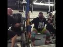 Робб Филиппус, приседания 370 кг на 3 раза
