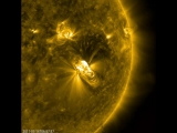 July 14 Solar Flare and a Coronal Mass Ejection