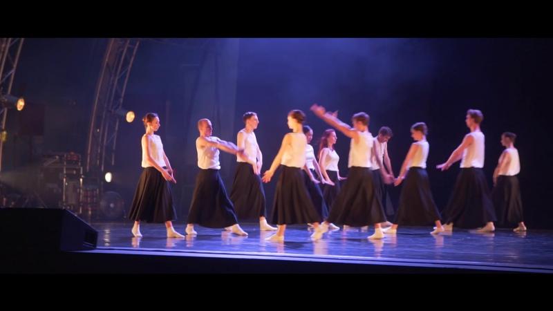 Ночь одноактных балетов. Зеленый театр ВДНХ. Сцена на воде