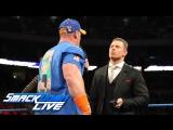 [WWE QTV]☆[Smackdown Live]☆[Смек Лайв]28 February 2017]John Cena and The Miz Maryse of words on
