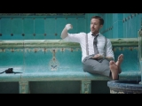 Ryan Gosling Goes Swimming in his Ralph Lauren Suit GQ