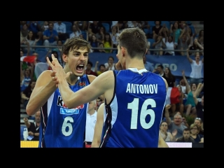 TOP 10 Best Volleyball Spikes - Setter Surprise Attacks - World League 2017
