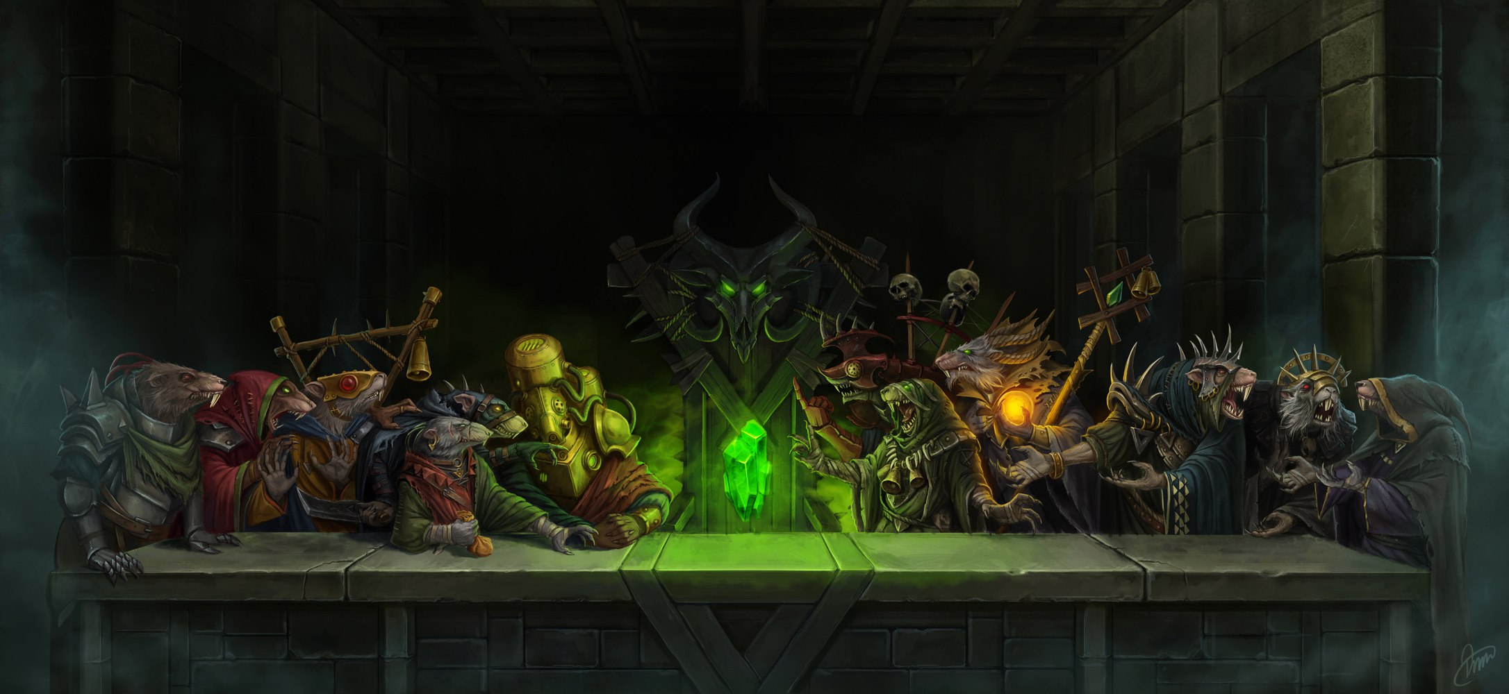 The Council of Thirteen Warhammer Fantasy