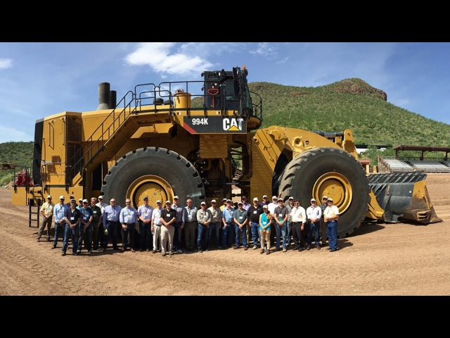Фронтальный погрузчик Caterpillar 994K 45 тонн