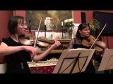 В. А.  Моцарт -  Дуэт для скрип. и альта соль мажор, 1 часть -  Евдокия Ионина, Анастас...