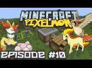 Minecraft: Pixelmon! Эпизод 10 НАШЛИ ДЕРЕВНЮ! ГОЛОДНЫЙ ПОХОД, ЧАСТЬ 3. МАЙНКРАФТ ПОКЕМОНЫ