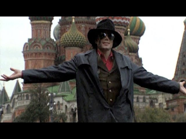 Michael Jackson in Moscow 1993