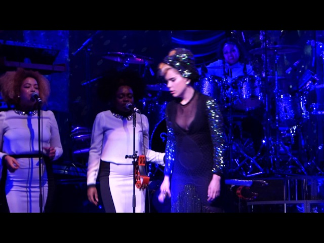 Paloma Faith I'd Rather Go Blind cover live Liverpool Empire 04 06 13