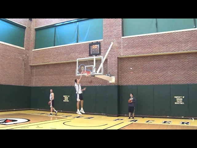 Gerald Green's ridiculous vertical, plus some Pacers Alley Oop practice.