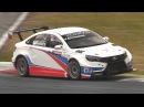 Lada Vesta WTCC Sound - Accelerations, Fly Bys Testing On Track!