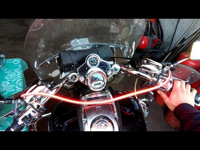 Honda VTX1800 | Dynamic Lighting Engine | Динамическая Подсветка Двигателя | №_3