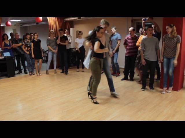 Инна и Илья в клубе Tango Vida.16.09.2016