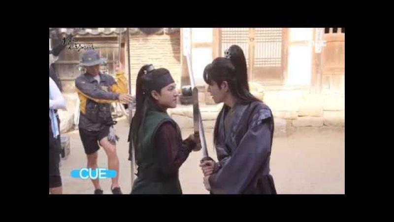 170918 YoonA, Siwan Hong Jong Hyun - The King In Love Ep 37 38 Making Film
