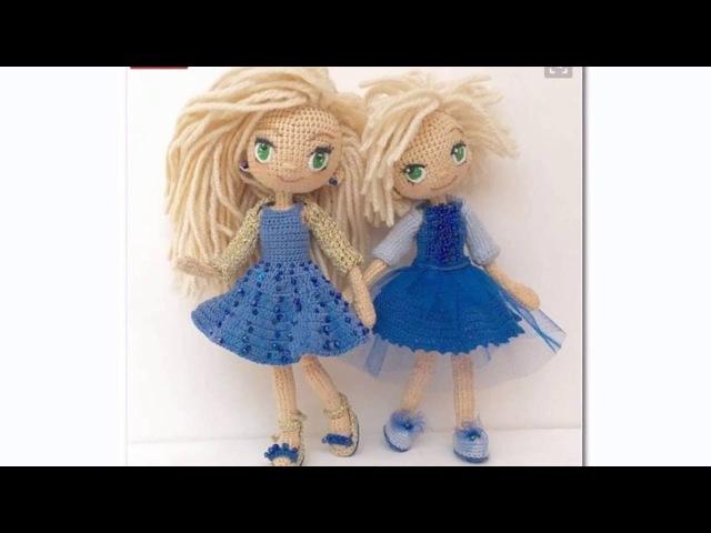 Куклы мастеров, вязаные крючком и спицами. Идеи для вдохновения