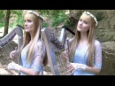 RIVER FLOWS IN YOU (Yiruma 이루마) Harp Twins - Camille and Kennerly