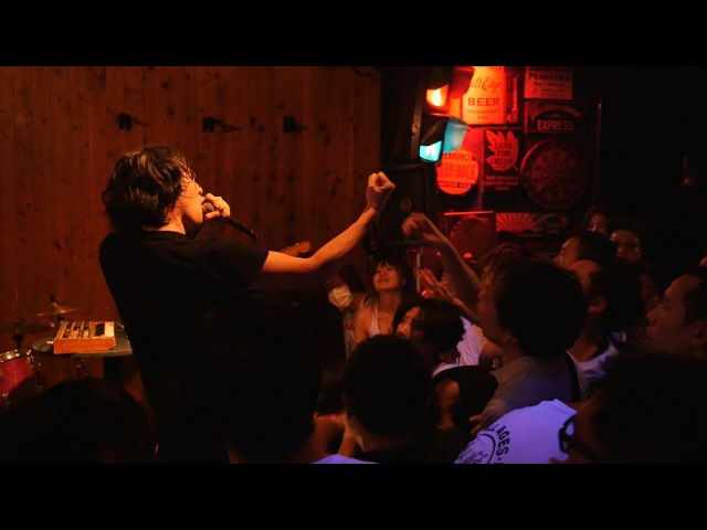 2017 06 18『Blood on the moshpit』 Have a Nice Day ハバナイ at 新宿LOFT BAR STAGE MAXIMUM CRY MAX