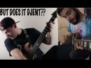 Djent Battle - Jared Dines VS Andrew Baena