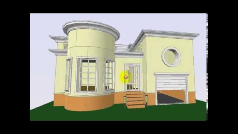 121 m² ərazidə tikilməsi mümkün olan şəraitli ev layihəsi
