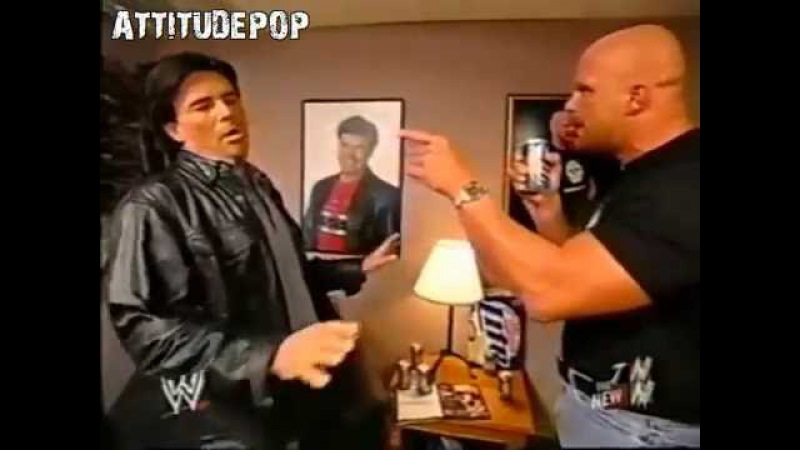 Stone Cold Tortures Eric Bischoff Funny Segment