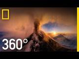 360 Kamchatka Volcano Eruption  National Geographic