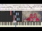 Зурбаган - В. Пресняков  (Ноты и Видеоурок для фортепиано) (piano cover)