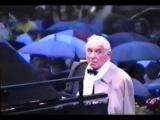 Rare footage of Leonard Bernstein jamming at the Waldb