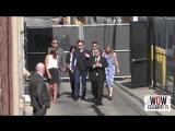 3 августа 2017 - Роберт направляется на съемки шоу «Jimmy Kimmel Live» в Лос - Анджелесе, США