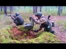 Действия российских разведчиков на местности в ходе учений «Запад-2017».