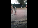 Нудисты  на улице