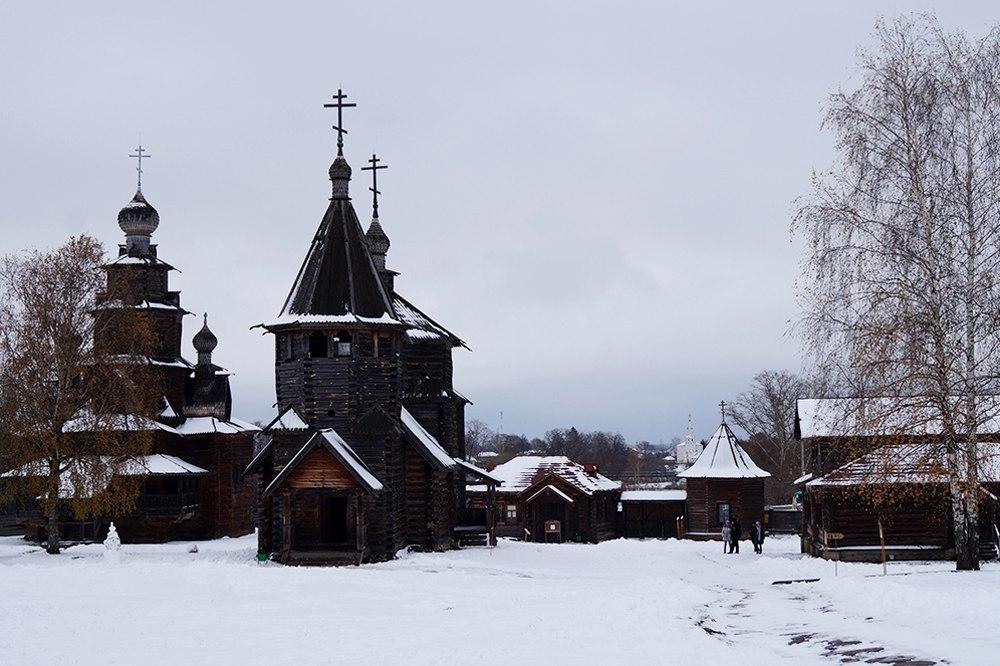 Деревянная церковь без единого гвоздя