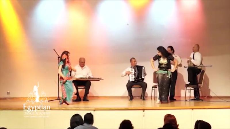 Doaa Sallam and Nada El Masriya's Impovisation with Live Musicians 8982