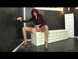 Redhead Girl And Strapon Cum Part 1