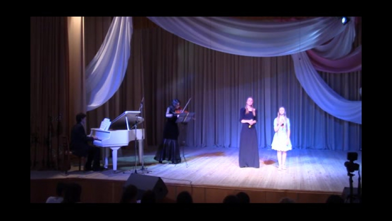 Анастасия Охотник и Ева Шокур - Бах. Ария из Магнификат Quia respexit сопрано
