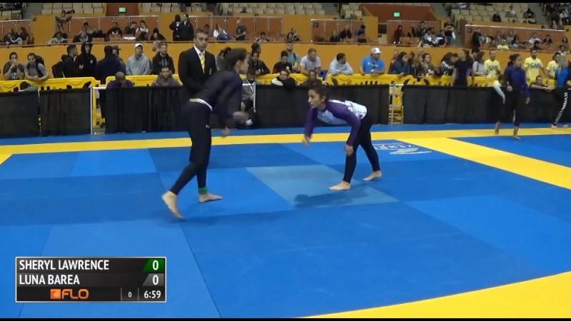 PURPLE Sheryl Lawrence vs Luna Barea 2016 IBJJF No-Gi World Championships