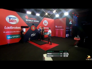 Gerwyn Price vs Steve Beaton (PDC World Series of Darts Finals 2016 / Round 1)