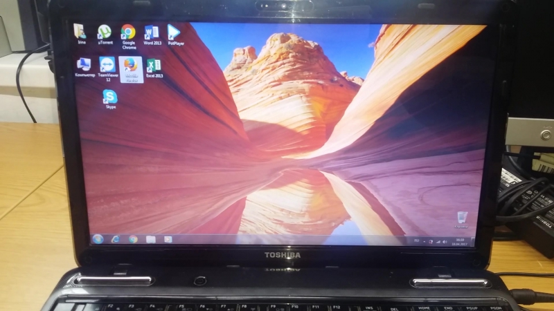 Загрузка Windows 7 Toshiba Satellite L755-16U