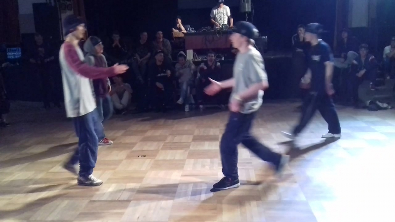 Footwork semi-final 1 Kings of the Underground 2017