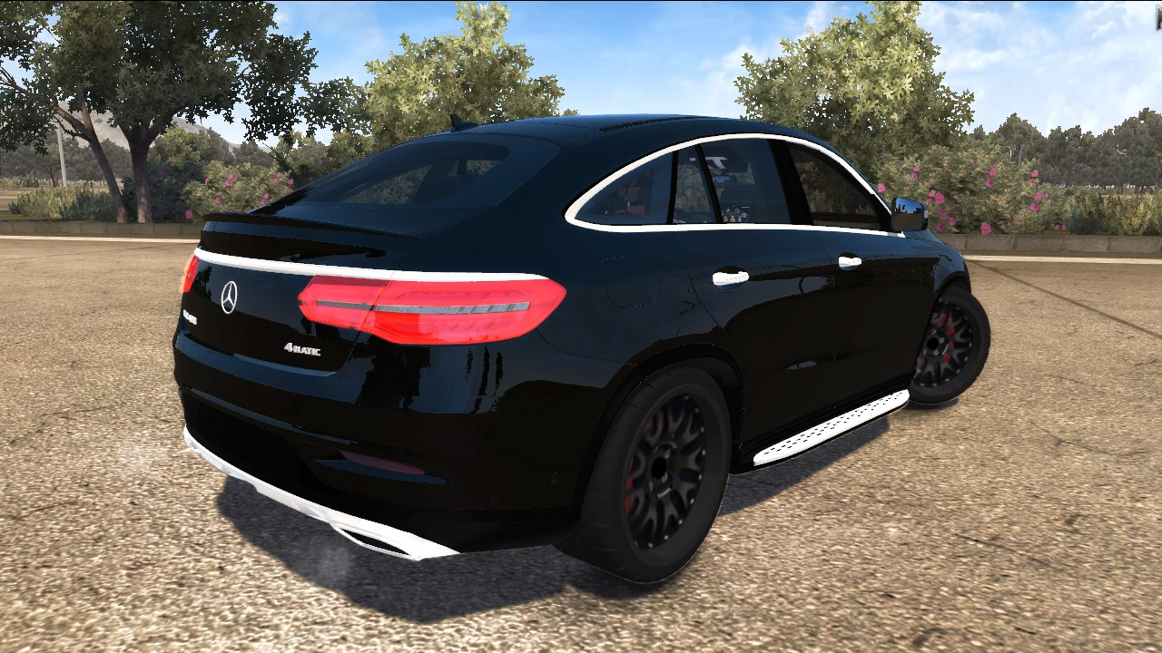 Released mercedes benz gle 450 4matic final version hq for Mercedes benz gle 450 4matic