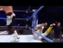 @HEELZiggler counters @KalistoWWE's springboard attempt sending the luchador crashing to the floor SDLive