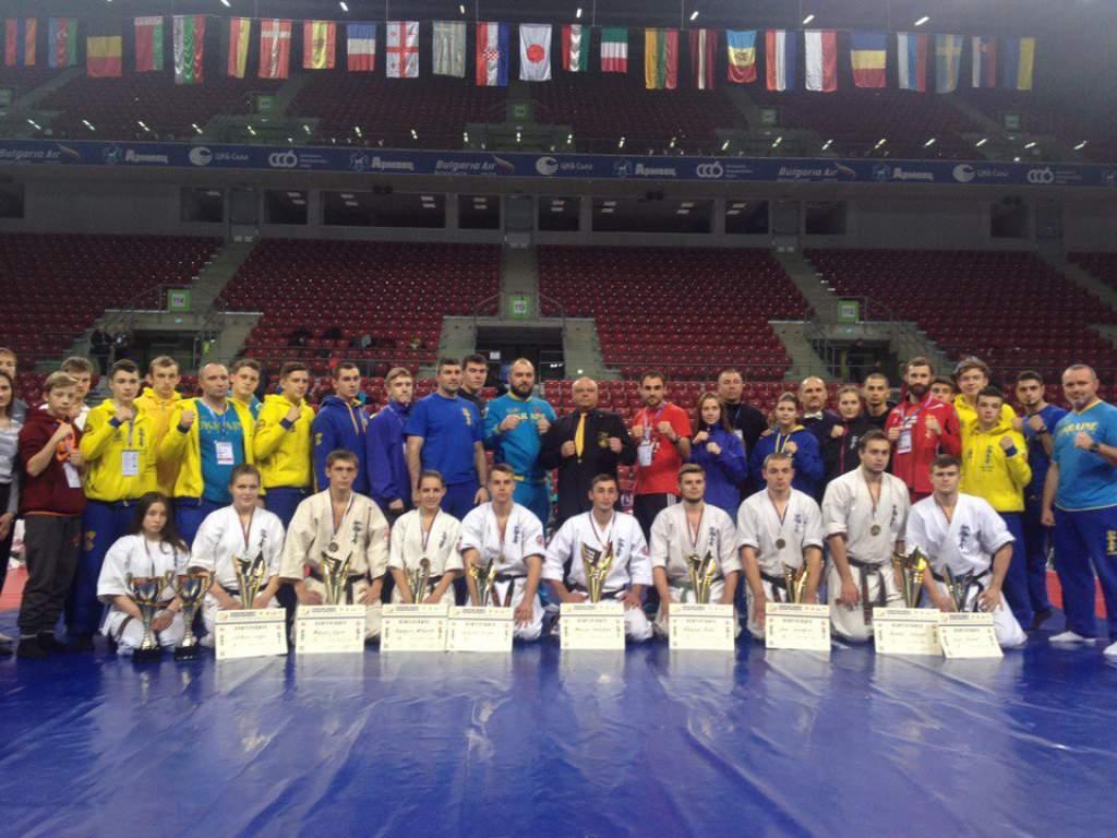 European karate championships - Sofia 2016