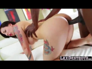 Tattooed brunette Dollie Darko auditions and gets fucked by Lex