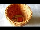Плетение из газет мастер-класс Корзинка-конфетница