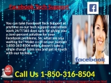 Is Facebook Tech Support 1-850-361-8504 Fake or Genuine