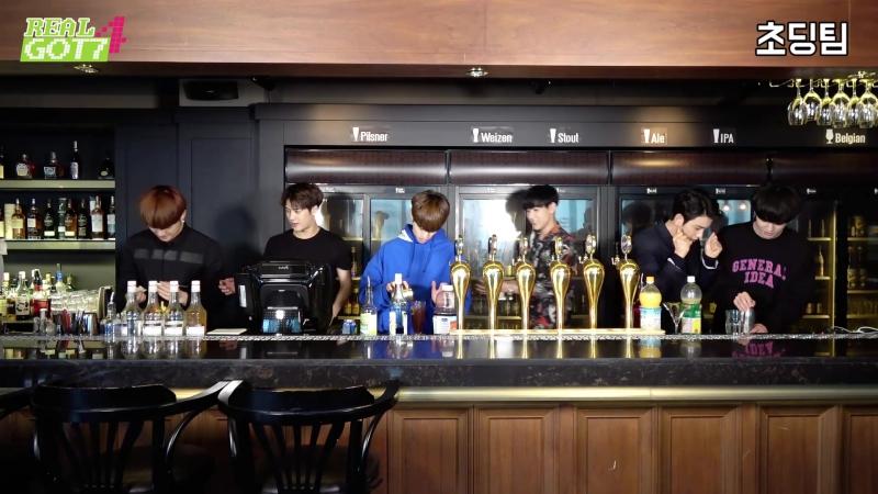 [Real GOT7 Season 4] episode 06. «Drink, Play, Talk».
