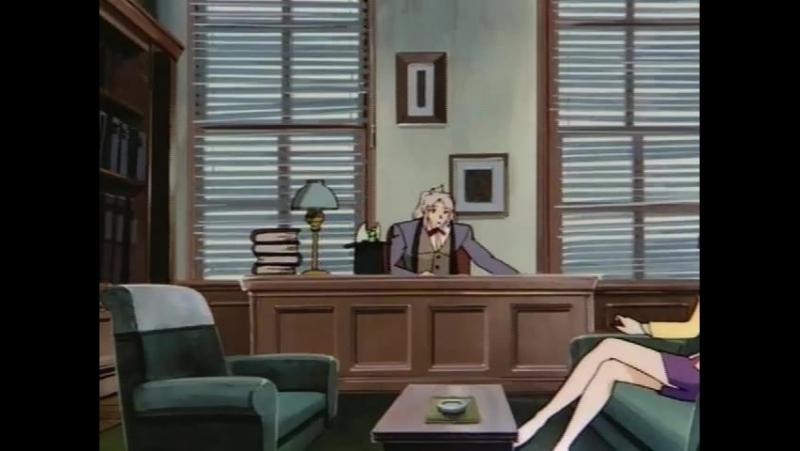 Ночной странник: Полночный детектив \ Night Walker: Mayonaka no Tantei - 01 серия (Jack, Ruri, Berserk)
